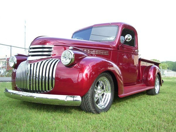 46 Chevy truck after